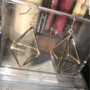 FREE with bundle, Gold geometric earrings